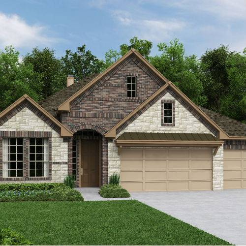Front Gate at Fair Oaks Ranch  60 by Ashton Woods Homes in San Antonio Texas