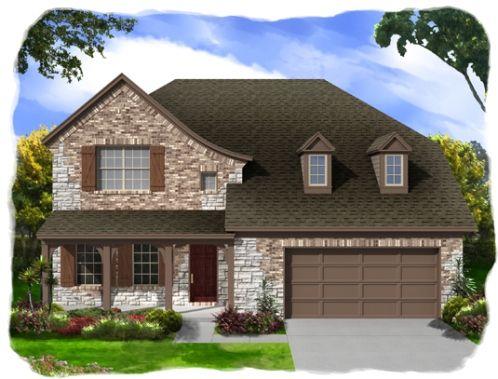 White Rock by Ashton Woods Homes in Killeen Texas