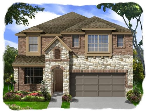 Yowell Ranch Village Series by Ashton Woods Homes in Killeen Texas