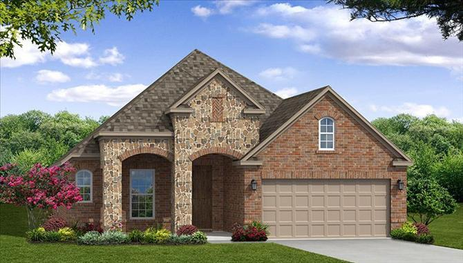 Silverado - Frisco Hills: Little Elm, TX - Beazer Homes