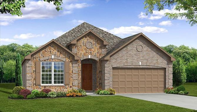 Millbrook - Frisco Hills: Little Elm, TX - Beazer Homes