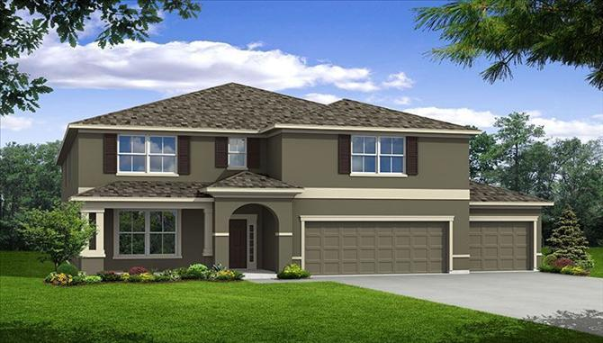 The Windsor - The Reserve at Dupree Lakes: Land O Lakes, FL - Beazer Homes
