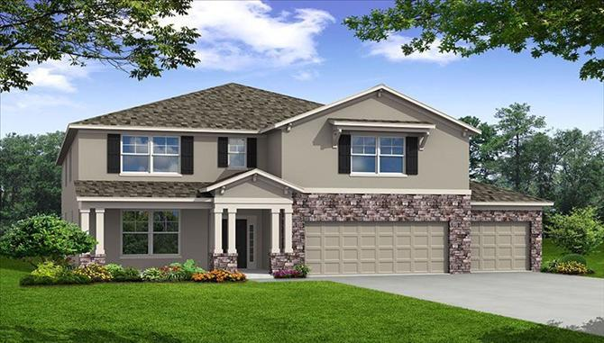 The Reserve at Dupree Lakes by Beazer Homes