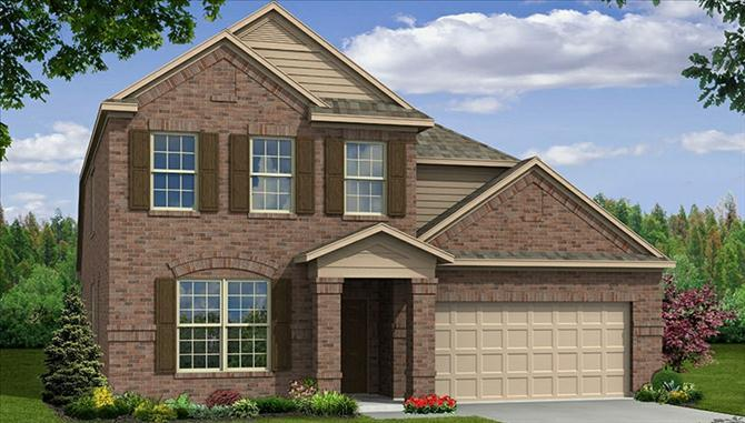 Avalon - Lakeview at Sunset Pointe: Little Elm, TX - Beazer Homes