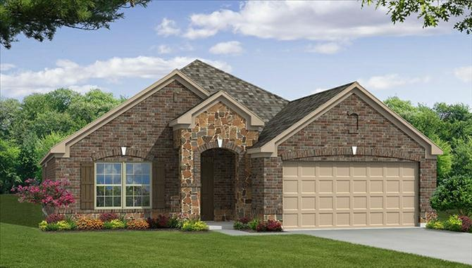 Silverado II - Rolling Meadows: Fort Worth, TX - Beazer Homes