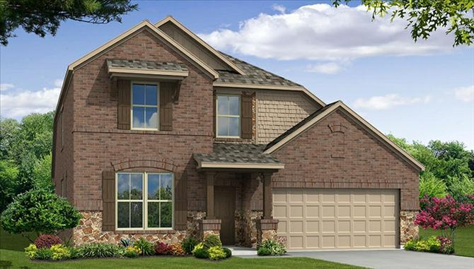 Avalon - Rolling Meadows: Fort Worth, TX - Beazer Homes