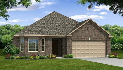 Williamsburg by Beazer Homes in Dallas Texas