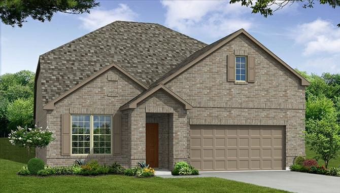 Cadmar - Rolling Meadows: Fort Worth, TX - Beazer Homes