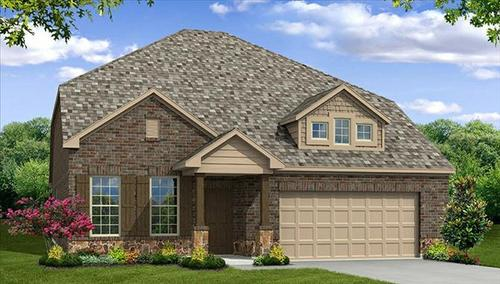 Rolling Meadows by Beazer Homes in Fort Worth Texas