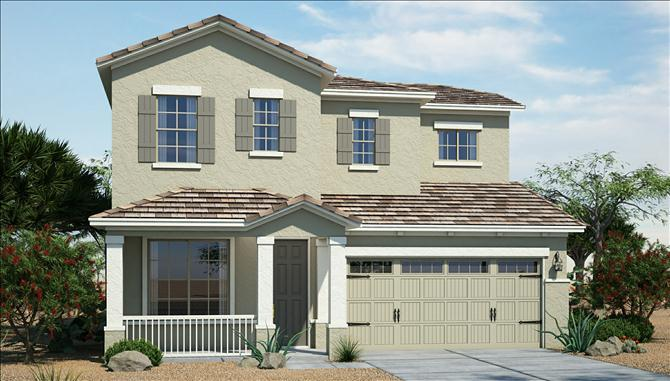 Pontocello - Silva Mountain: Phoenix, AZ - Beazer Homes