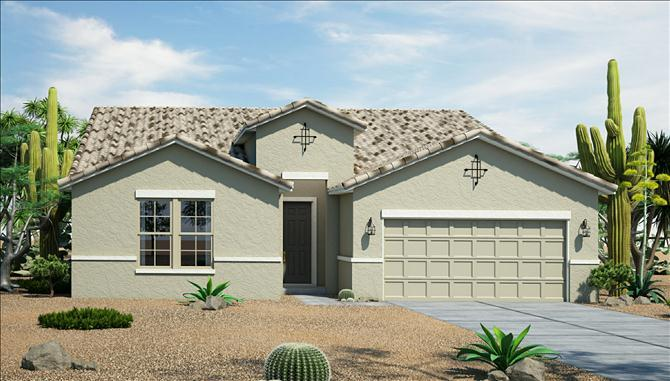 Rockwell - Silva Mountain: Phoenix, AZ - Beazer Homes