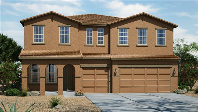 Paradiso - Silva Mountain: Phoenix, AZ - Beazer Homes