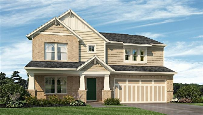 Bradley - The Ridge At Prairie Crossing: Noblesville, IN - Beazer Homes