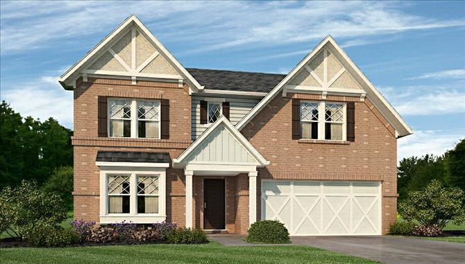 Juniper - The Ridge At Prairie Crossing: Noblesville, IN - Beazer Homes