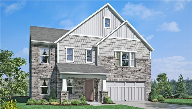 Jefferson - The Ridge At Prairie Crossing: Noblesville, IN - Beazer Homes
