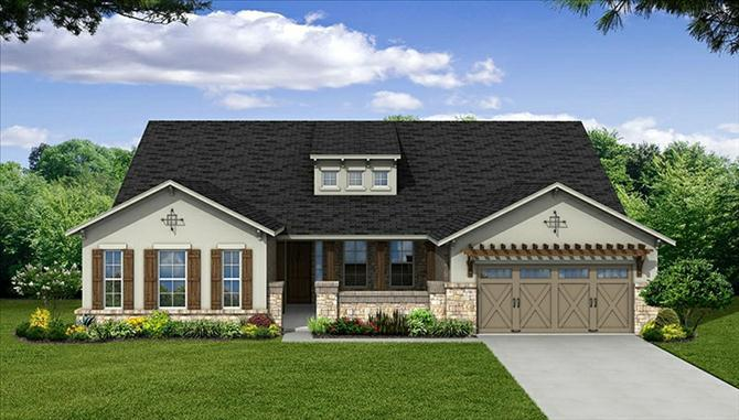 Aldrin - The Park At Arbordale: Cypress, TX - Beazer Homes