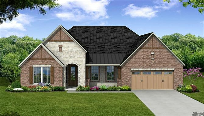 Glenn - The Park At Arbordale: Cypress, TX - Beazer Homes