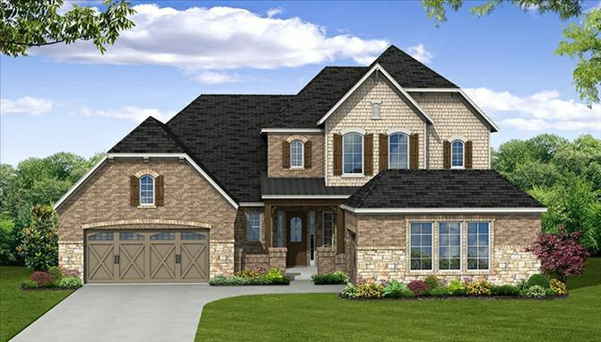 Hartsfield - The Park At Arbordale: Cypress, TX - Beazer Homes