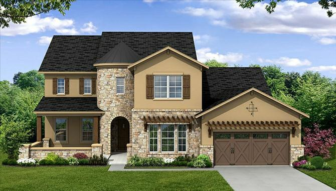 Lovell - The Park At Arbordale: Cypress, TX - Beazer Homes