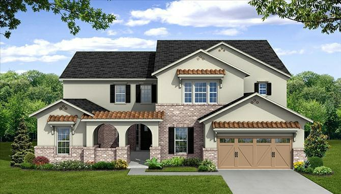 Mc Arthur - The Park At Arbordale: Cypress, TX - Beazer Homes