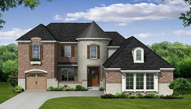 Hopkins - The Park At Arbordale: Cypress, TX - Beazer Homes