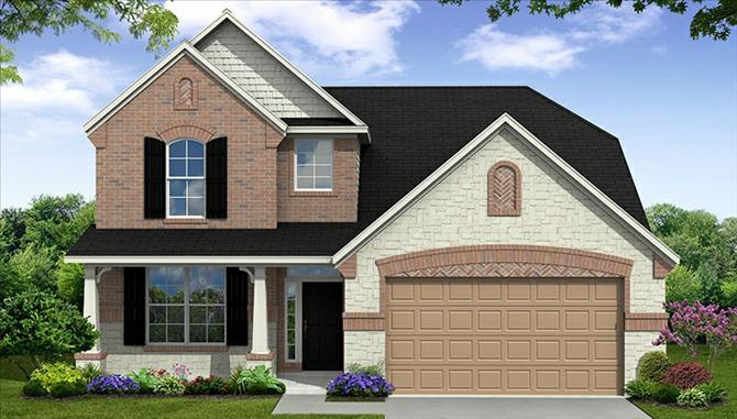 Armstrong - Mar Bella: League City, TX - Beazer Homes