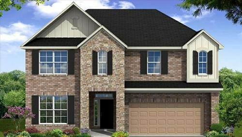 Highland Crossing by Beazer Homes in Houston Texas