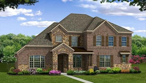 Stoney Creek by Beazer Homes in Dallas Texas