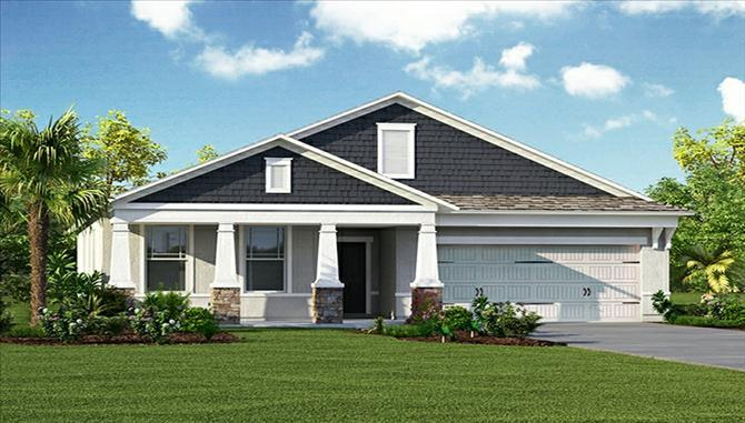 St Augustine III - FishHawk Ranch: Lithia, FL - Beazer Homes