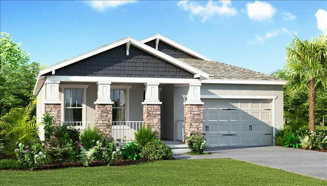 St Augustine II - FishHawk Ranch: Lithia, FL - Beazer Homes