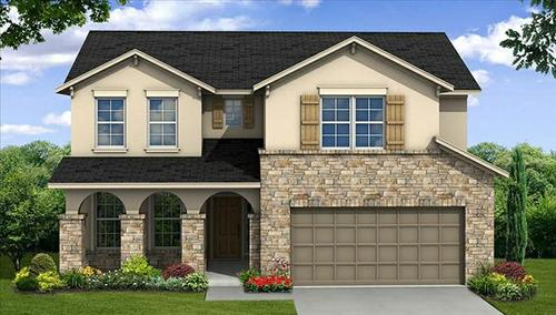 Bridgeland: Hidden Creek - 55' by Beazer Homes in Houston Texas