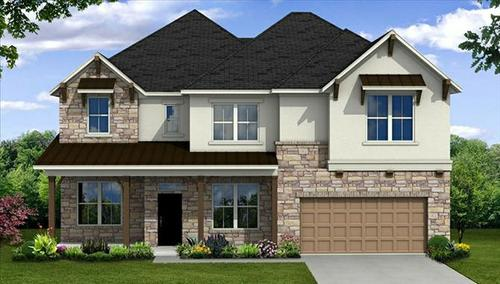 Enclave at Highland Glen by Beazer Homes in Houston Texas