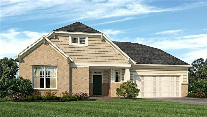 Lancaster - Estates at Lochaven: Noblesville, IN - Beazer Homes