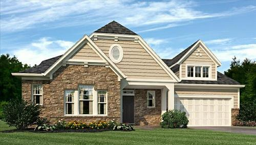 Keeneland Park by Beazer Homes in Indianapolis Indiana