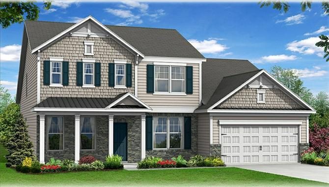 Timberlake - Cameron Village: Myrtle Beach, SC - Beazer Homes