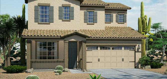 Colton - Silva Mountain: Phoenix, AZ - Beazer Homes