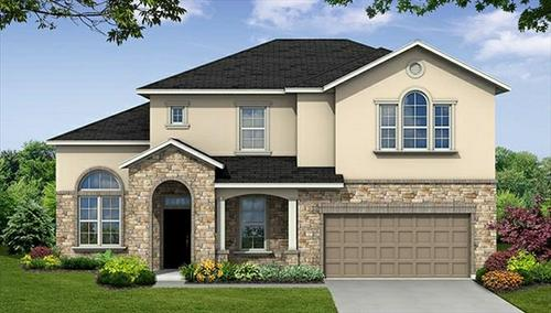 Hayden Lakes by Beazer Homes in Houston Texas