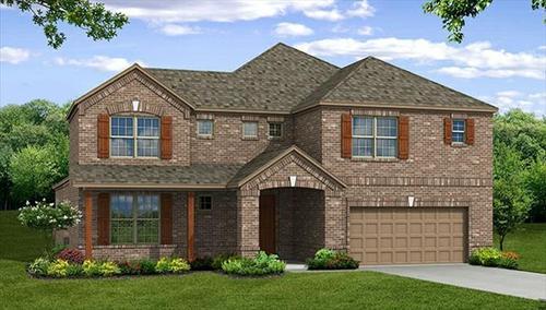 Live Oak Creek by Beazer Homes in Dallas Texas