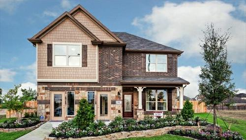 Bayside Crossing by Beazer Homes in Houston Texas