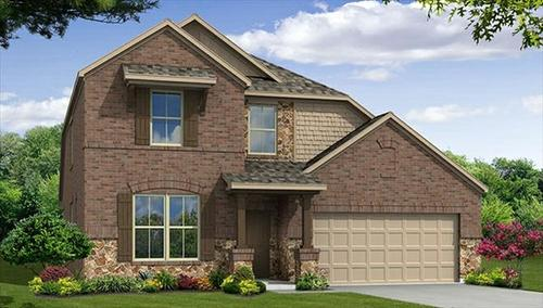 The Preserve at Pecan Creek by Beazer Homes in Dallas Texas