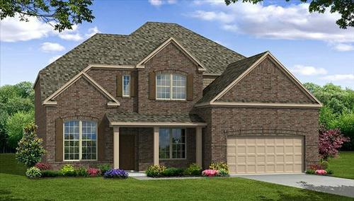 Willow Ridge by Beazer Homes in Fort Worth Texas
