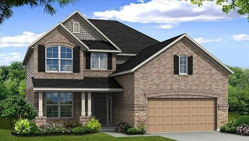 Canyon Lakes West: Pine Creek by Beazer Homes in Houston Texas