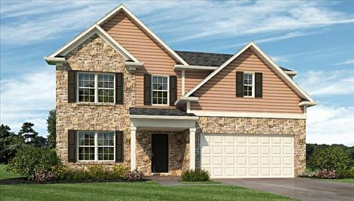 Walker Farms by Beazer Homes in Indianapolis Indiana