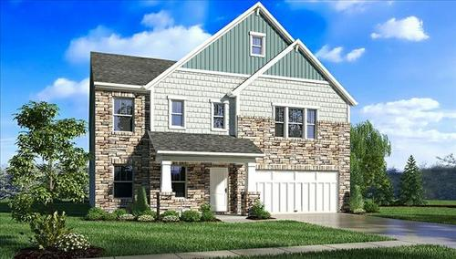Springs At Deer Crossing by Beazer Homes in Indianapolis Indiana