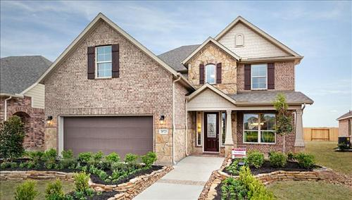 King Crossing by Beazer Homes in Houston Texas