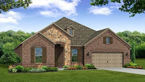 Trinity Falls by Beazer Homes in Dallas Texas
