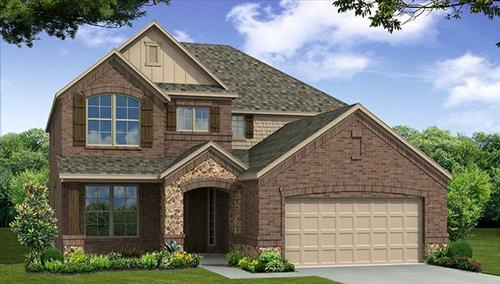 Prestwyck by Beazer Homes in Dallas Texas