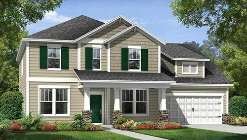 house for sale in The Oaks at Cane Bay by Beazer Homes