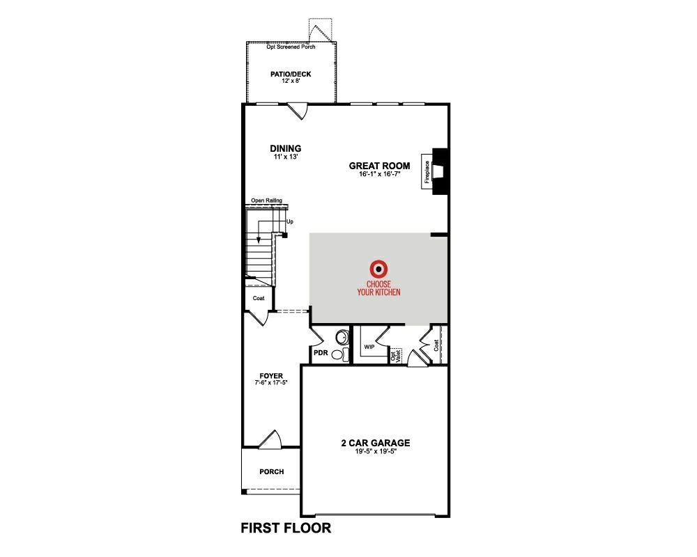 Beazer Homes Cameron Floor Plan