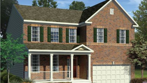 Greenfield Single Family Homes by Beazer Homes in Hagerstown Maryland